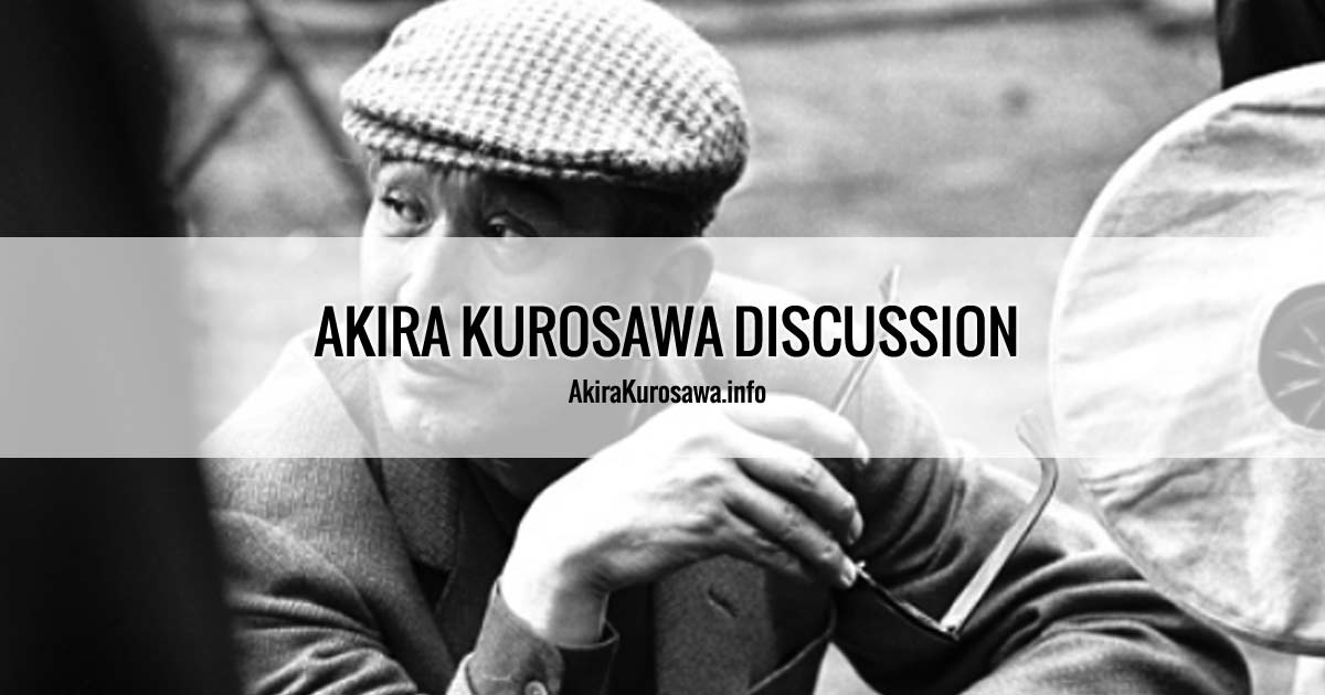 Yojimbo: Love for a killer • Akira Kurosawa Discussion
