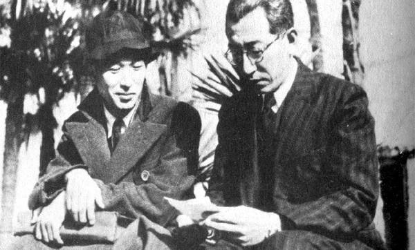 Akira Kurosawa and Kajirō Yamamoto