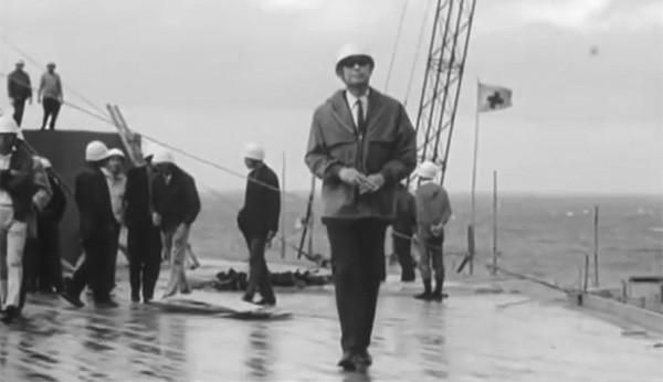 Kurosawa on board Nagato