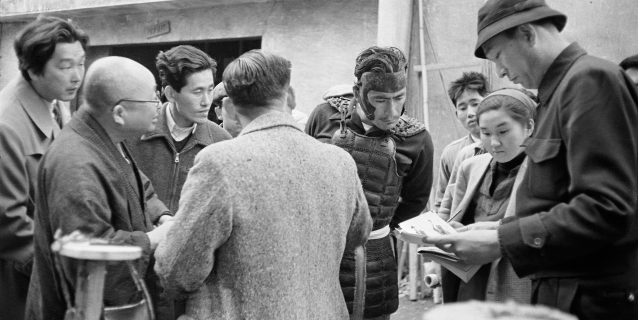 Kurosawa and crew