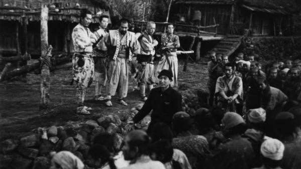 On the set of Seven Samurai