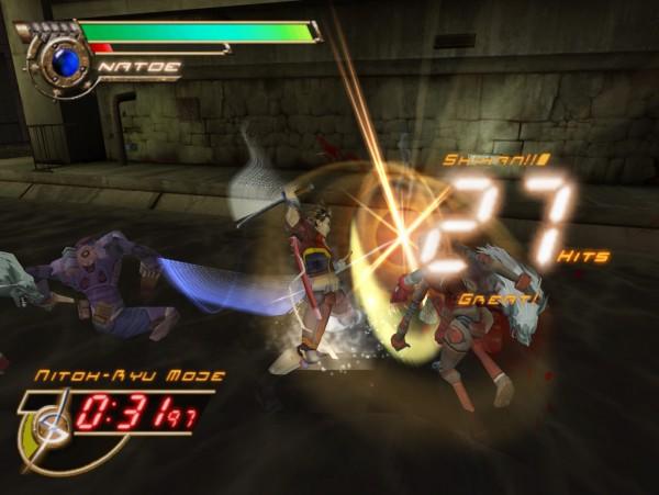 Seven Samurai 20XX - fight