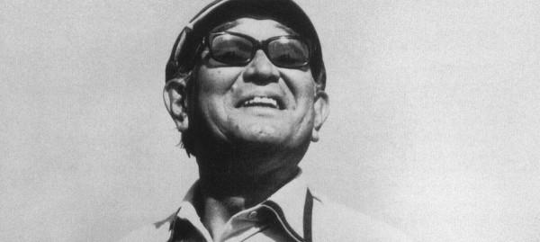 Akira Kurosawa smiling