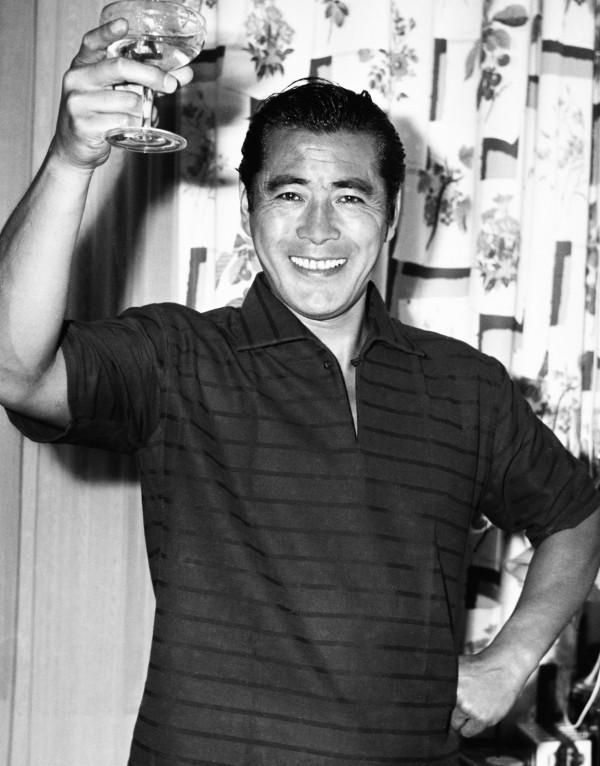 Toshiro Mifune toast