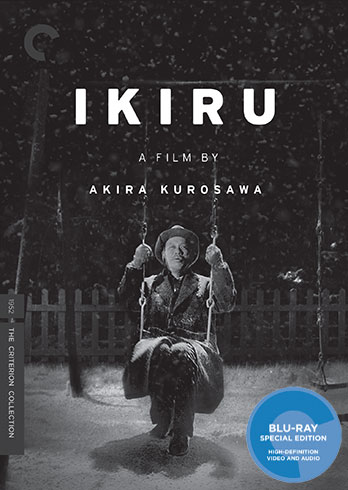 Ikiru Criterion Blu-ray