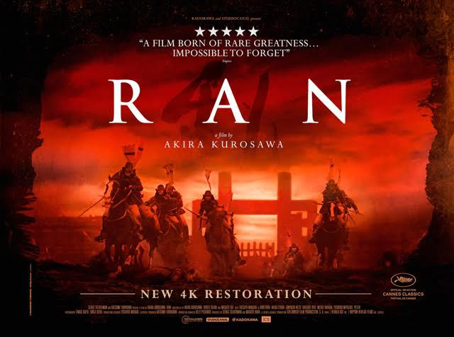 an analysis of ran by akira kurosawa Poem: cinematic transcendence in akira kurosawa's ran by  cinematic transcendence in akira kurosawa's ran kurosawa's accomplishment is in magnifying a play too big for the stage.