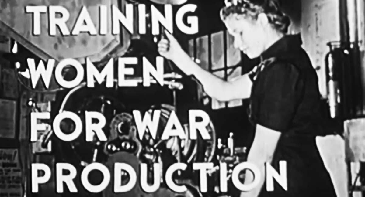 Training Women for War Production