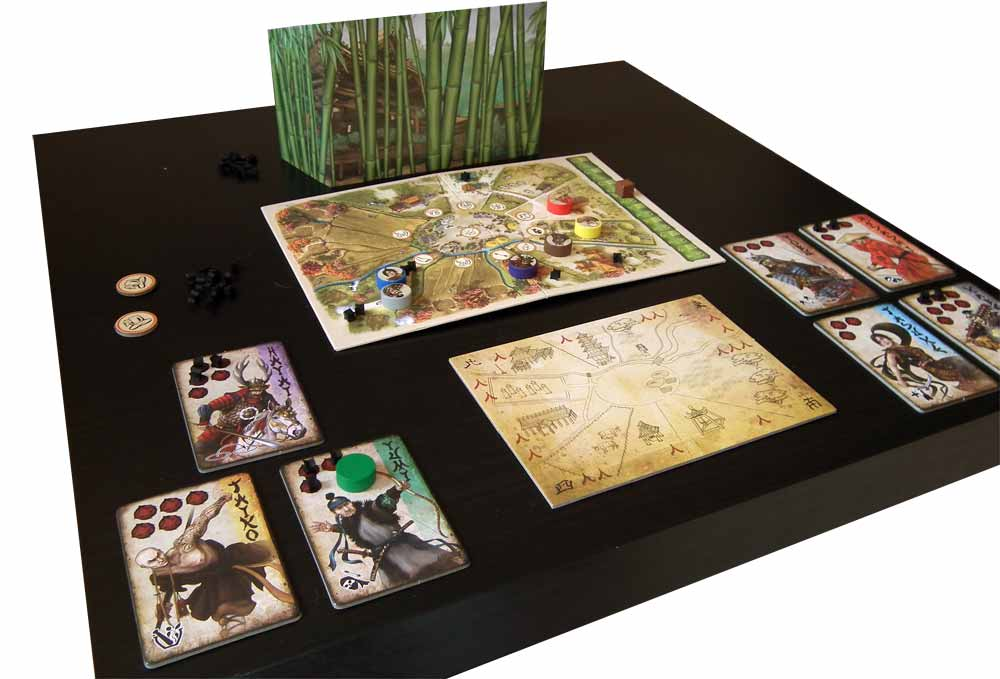 7 Ronin table