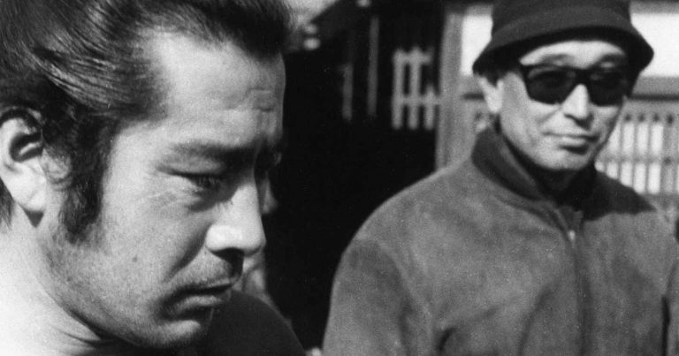 Kurosawa Mifune exhibition poster detail