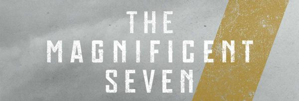 The Magnificent Seven poster (detail)