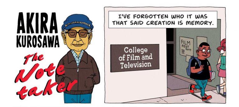 Akira Kurosawa comic