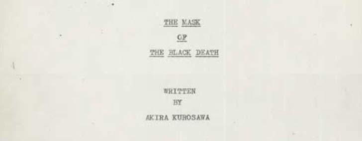 black death project ideas