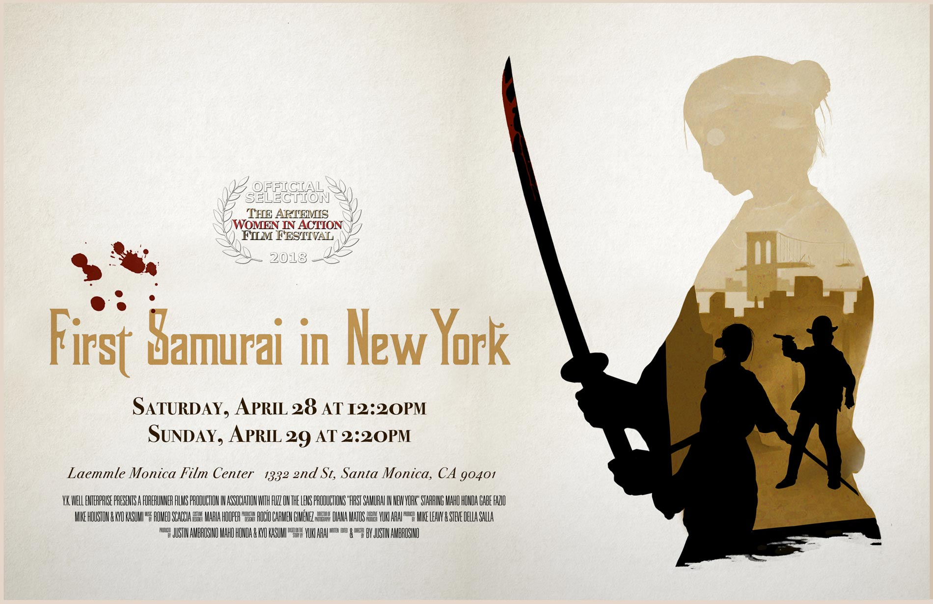 First Samurai in New York