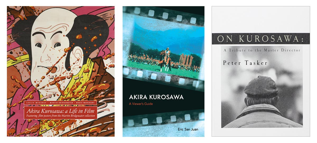 Three Kurosawa Books